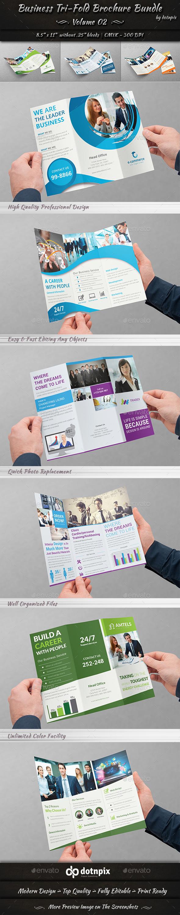 GraphicRiver Business Tri-Fold Brochure Bundle Volume 2 11313334