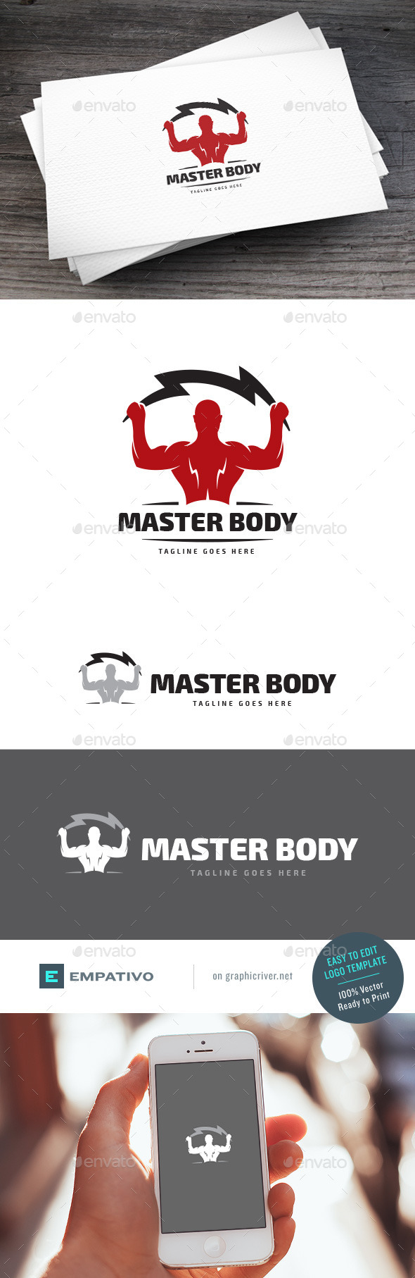 GraphicRiver Master Body Logo Template 11313364