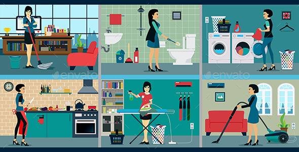 GraphicRiver Housewife 11313722