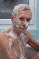 Senior man bathing - PhotoDune Item for Sale