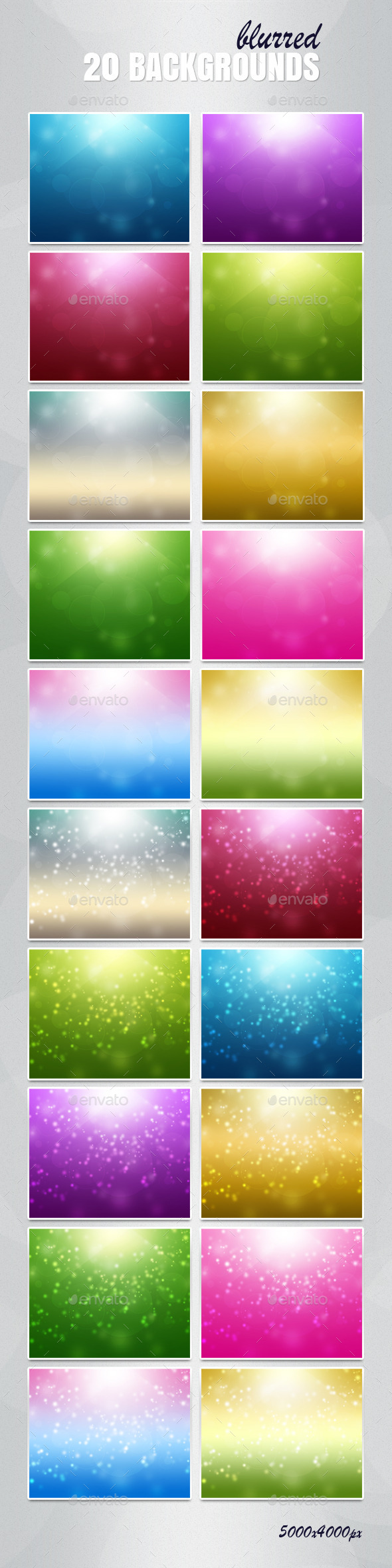 GraphicRiver 20 Backgrounds Blurred 11314047
