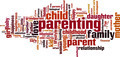 Parenting Word Cloud Concept - PhotoDune Item for Sale