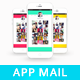 Mobile App Email Template - GraphicRiver Item for Sale