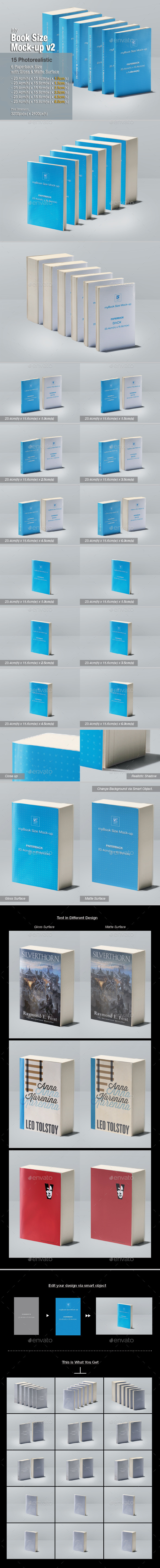 GraphicRiver myBook Size Mock-up v2 11314639