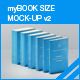 myBook Size Mock-up v2 - GraphicRiver Item for Sale