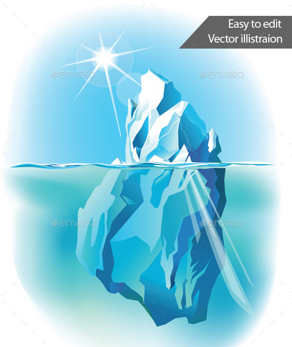 GraphicRiver Iceberg Under Water 11314646