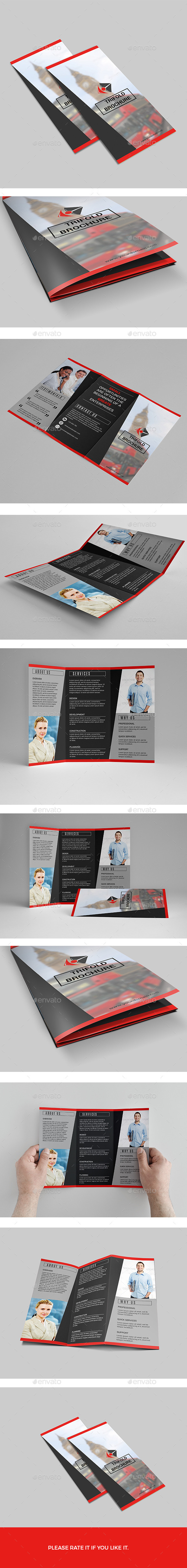 GraphicRiver Brochure-Trifold 11314648