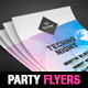 Party Flyer/Poster Template - GraphicRiver Item for Sale