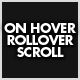 OnHover/RollOver Scroll - ActiveDen Item for Sale