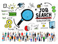 Diversity People Cheerful Opportunity Job Search Concept