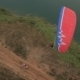 The Bike Competes With The Glider - VideoHive Item for Sale