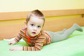 Child boy on bed - PhotoDune Item for Sale