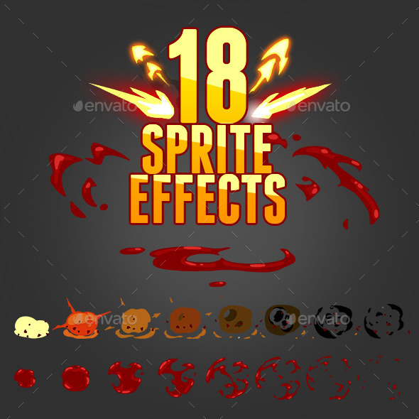 GraphicRiver 18 sprite effects 11274192