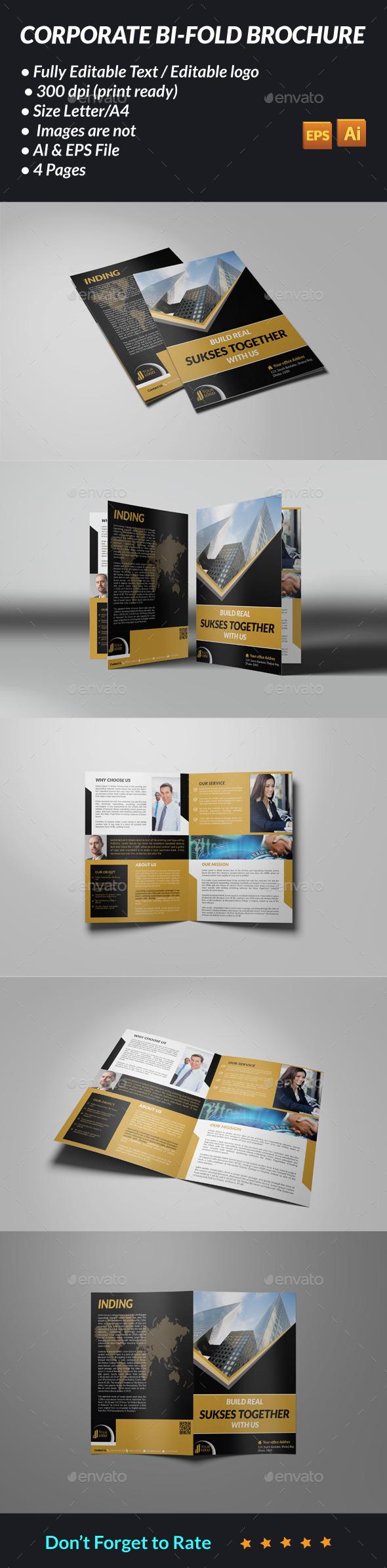 GraphicRiver Corporate Bi-Fold Brochure 11316024