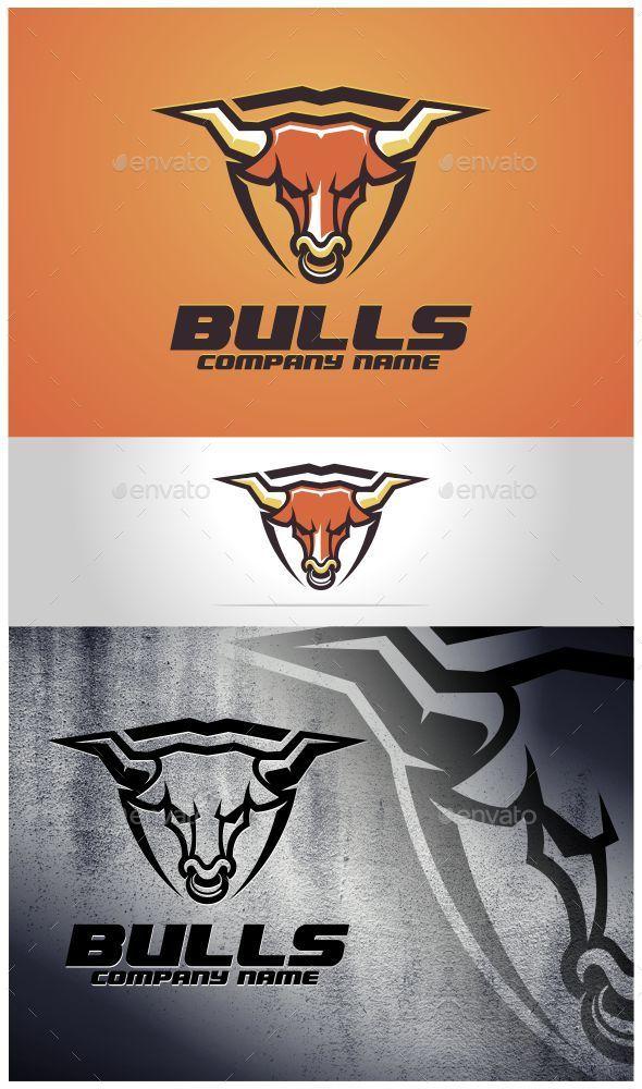 Bulls Logo Template