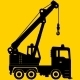 Set of Heavy Construction Machine Icons - GraphicRiver Item for Sale