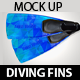 Diving Fins Mock Up - GraphicRiver Item for Sale