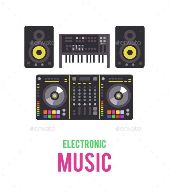 GraphicRiver Electronic Musical Devices 11316191