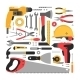 Set of Construction Tools - GraphicRiver Item for Sale