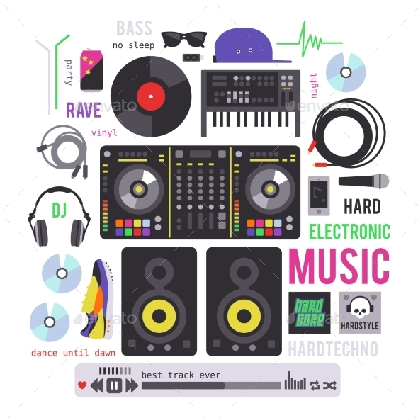 GraphicRiver Electronic Musical Devices 11316260