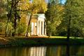 Autumn landscape with Pavilion  in Alexander's garden - PhotoDune Item for Sale