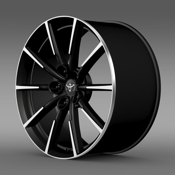 Toyota 86 G rim - 3DOcean Item for Sale