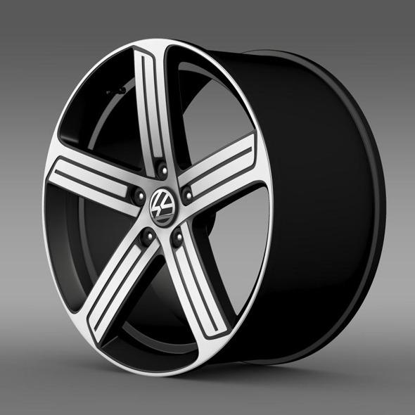 3DOcean Volkswagen Golf R rim 11316749