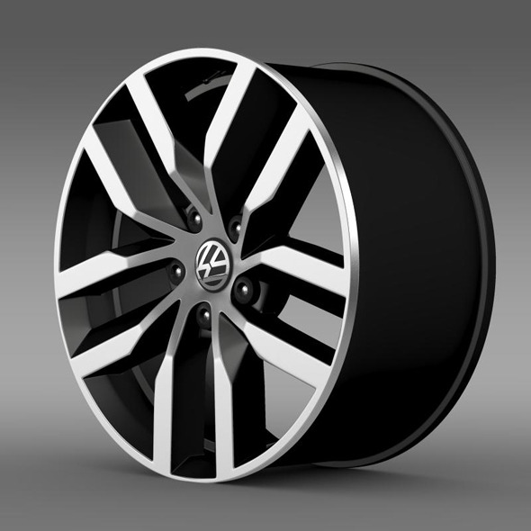 3DOcean Volkswagen Golf S rim 11316753