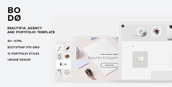 ThemeForest Bod A Beautiful Agency & Portfolio Template 11316762