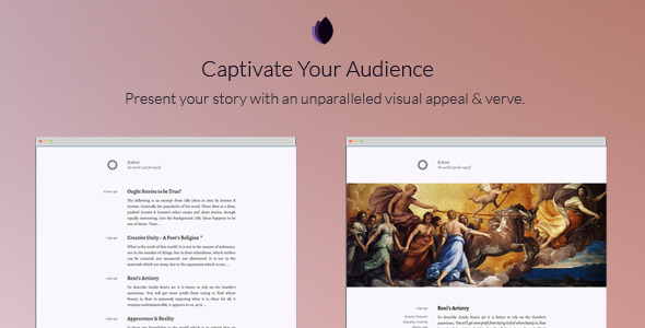 ThemeForest Kahini A Ghost Theme for Every Blogger 11316794
