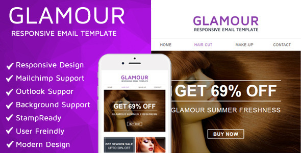 Glamour Email Template