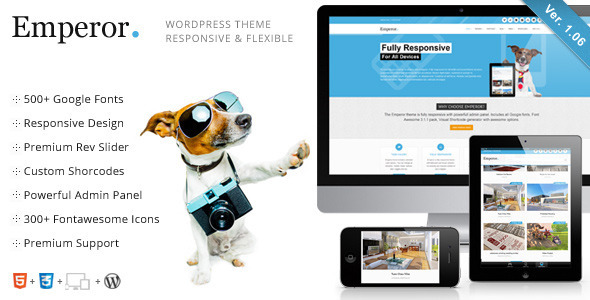 Emperor - Responsive Multi-Purpose Theme - Corporate WordPress
