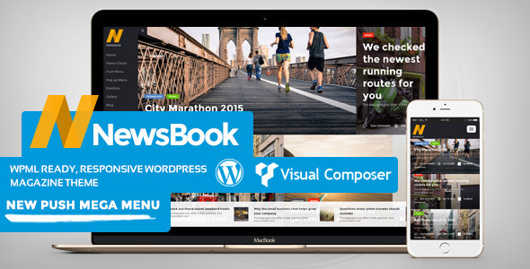 ThemeForest NewsBook Magazine Blog & News Theme 11317402
