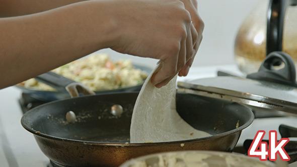 Cooking Tortillas