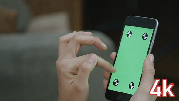 Using Smartphone with Green Screen and Track Markers