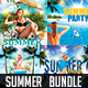 Bundle Flyer Summer Party Vol.1 - GraphicRiver Item for Sale