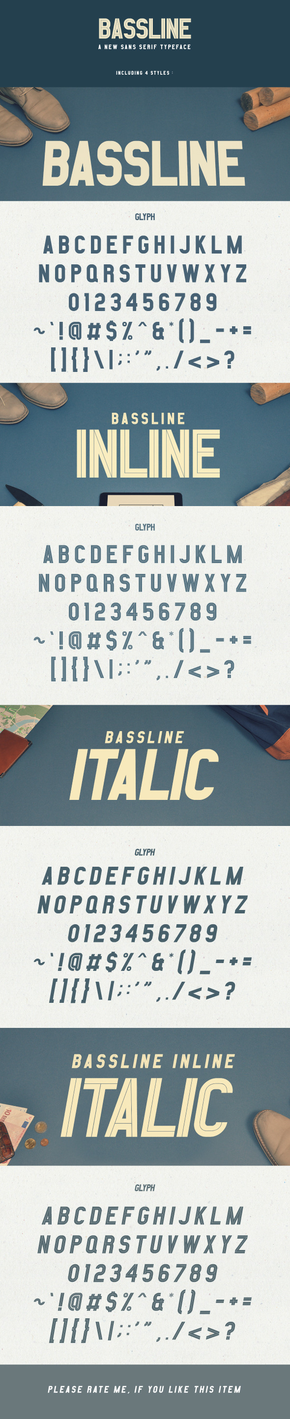 GraphicRiver Bassline 11317507