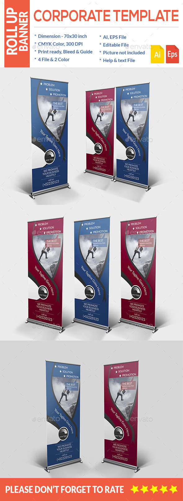 GraphicRiver Roll Up Banner 11317511