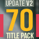 70 Title Animation Pack - VideoHive Item for Sale