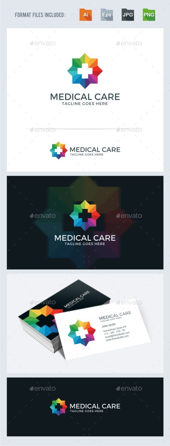 GraphicRiver Medical Care Logo Template 11317763