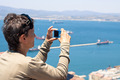 Woman taking photos with compact camera - PhotoDune Item for Sale
