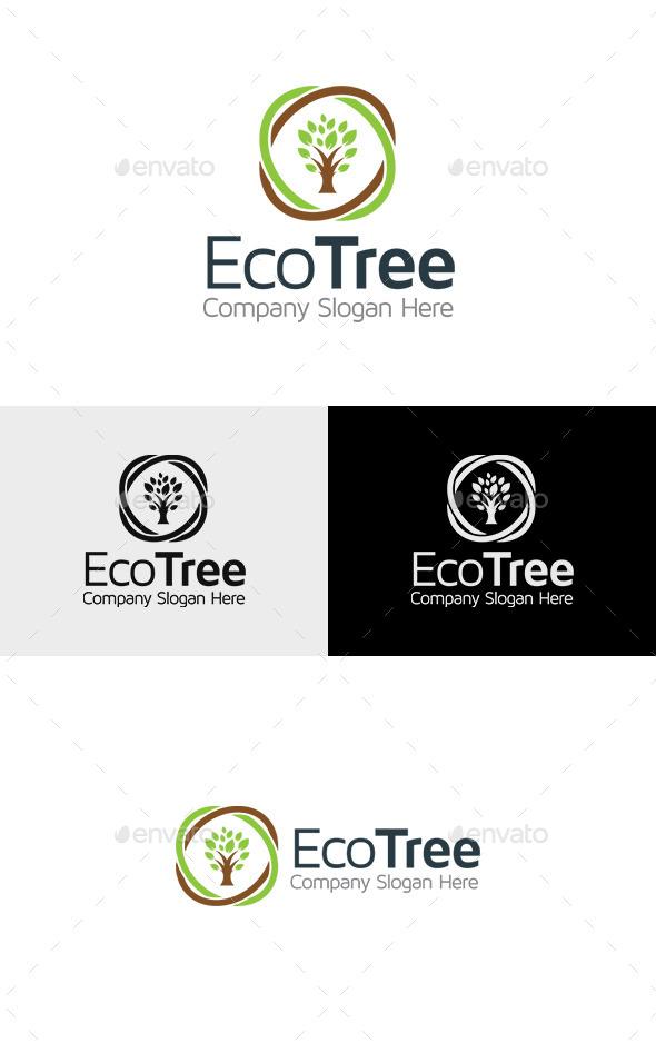 GraphicRiver Eco Tree Logo 11317840