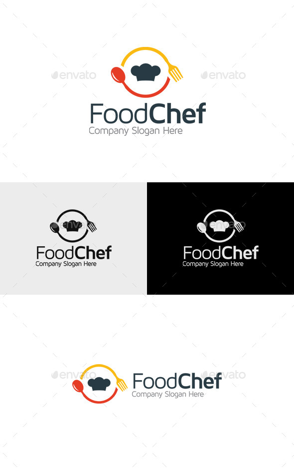 GraphicRiver Food Chef Logo 11317944