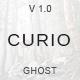 Curio - Responsive Minimal Ghost Theme - ThemeForest Item for Sale