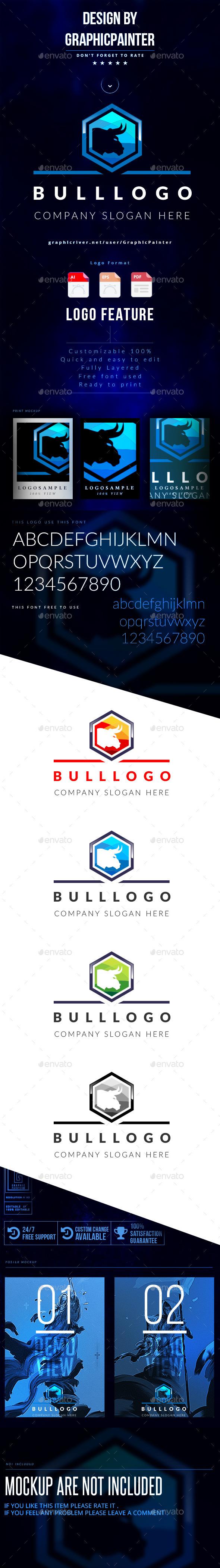 GraphicRiver Bull Logo 11318687