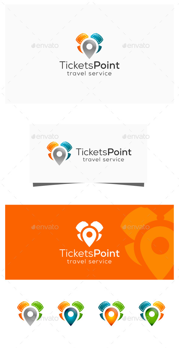 GraphicRiver Ticket Agency 11318689