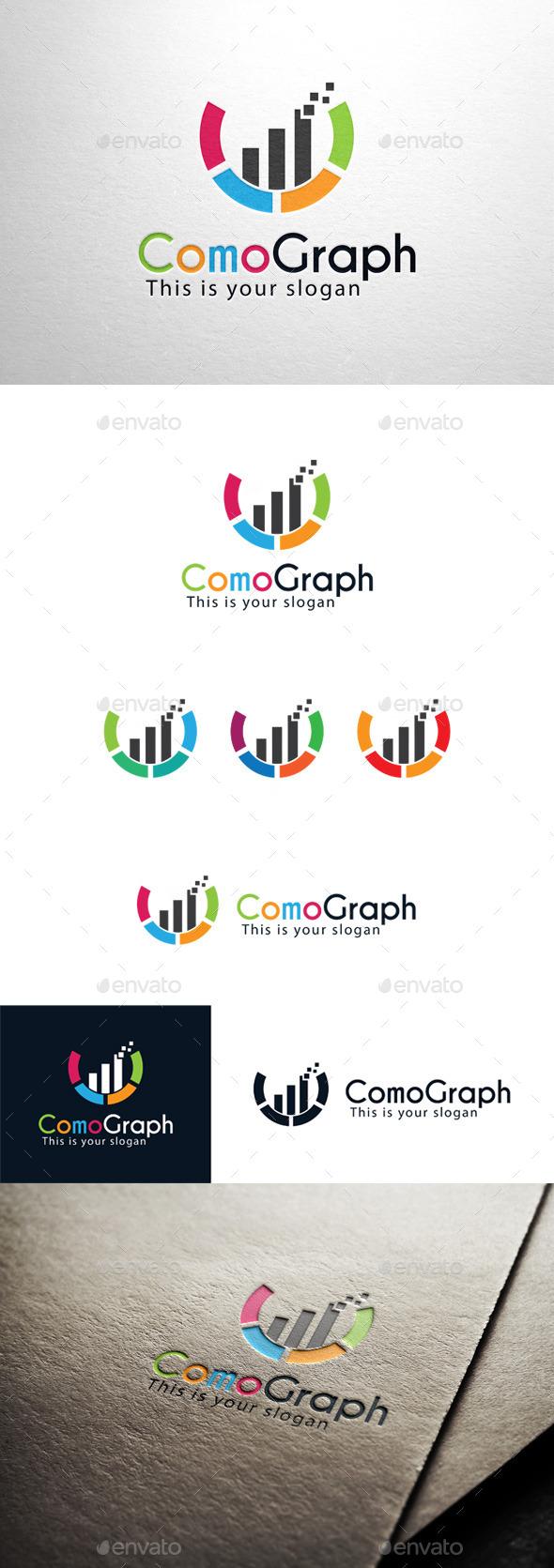 GraphicRiver Letter C Graph Logo 11319093