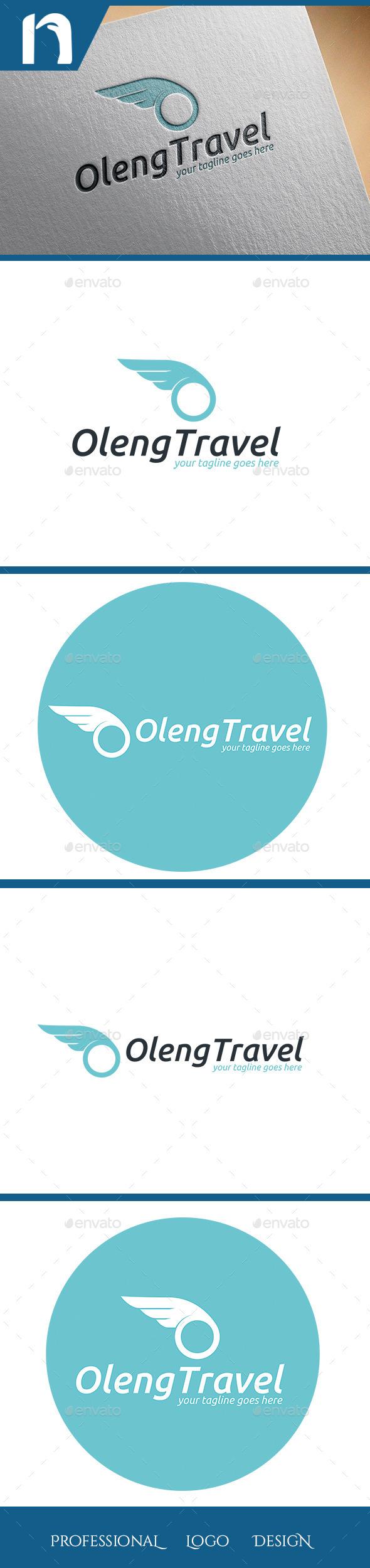 GraphicRiver O Travel Logo Template 11317404