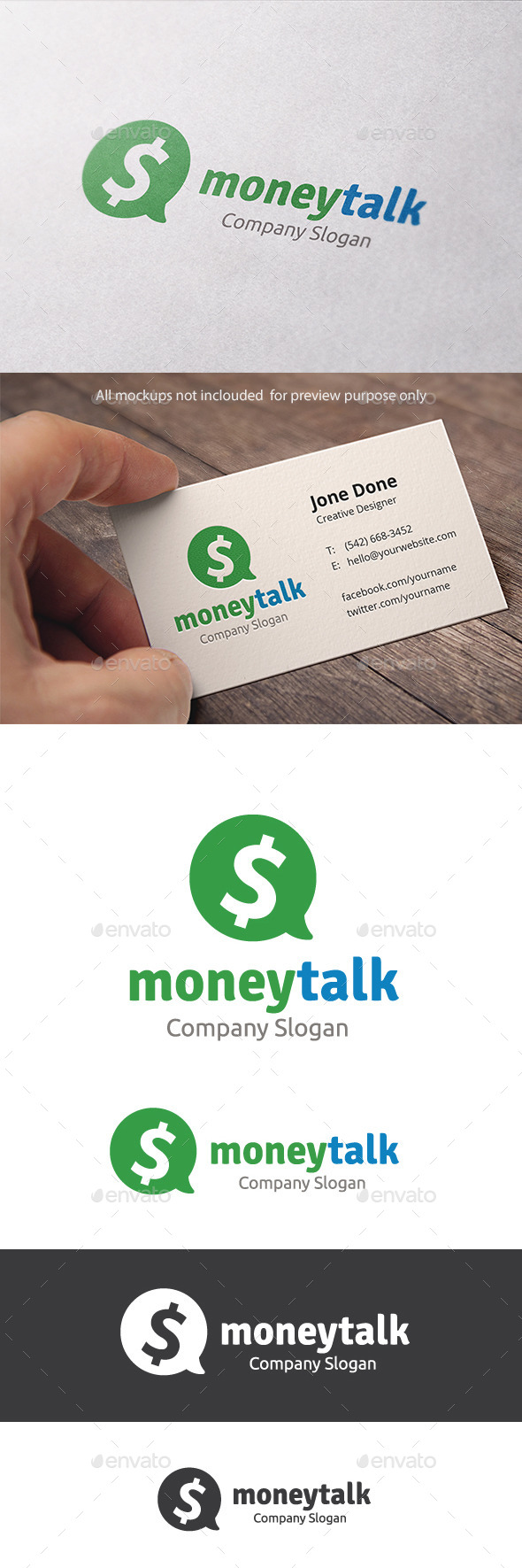 GraphicRiver Money Talk 11319321