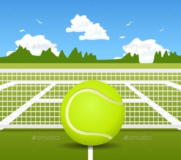 GraphicRiver Vector Illustration Of Tennis 11319473